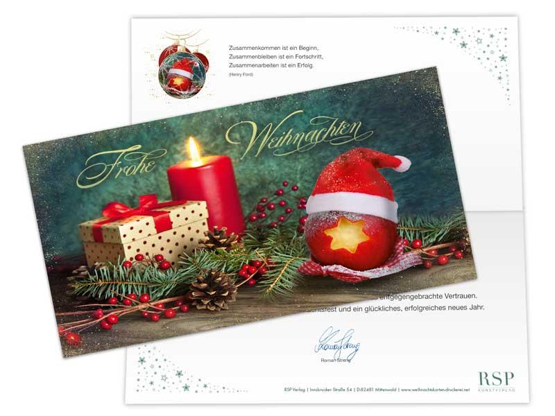 Firmen Weihnachtskarten Selbst Gestalten.Spezial Veredelungen Klappkarten Für Firmen 2019 Online Gestalten