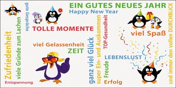 2018 Neujahrskarten für Firmen | Motiv: Neujahrswünsche - Artikel ...