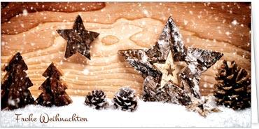 Holz Weihnachtskarten.Fotoimpressionen
