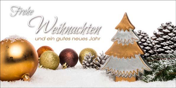 Weihnachtsmotive Für Karten.Goldene Weihnachtsgrüße