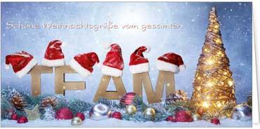 Lustige Weihnachtsgrüße Mail.Grüße Vom Team