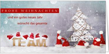 Firmen Weihnachtsgrüße.Grüße Vom Team