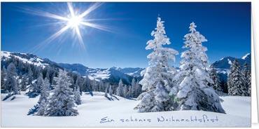 Weihnachtskarten mit spezialveredelung - Winterliche bilder kostenlos ...