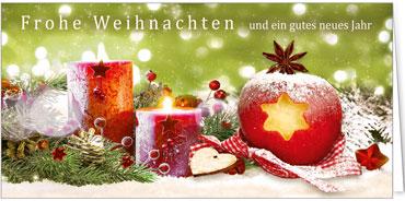 Weihnachtskarten Mit Duft.Duftkarten