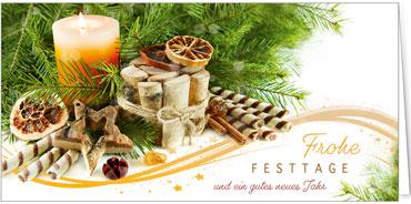 Weihnachtskarten Mit Duft.Duftkarten Für Firmen 2019
