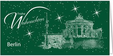 Weihnachtskarten Berlin.Berlin Weihnachtskarten Mit Sehenswürdigkeiten Deutschlands
