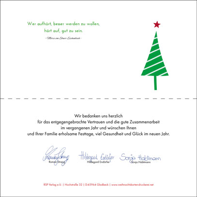 Weihnachtpost weihnachtskarten eindruck tipps - Zitate weihnachtskarte ...